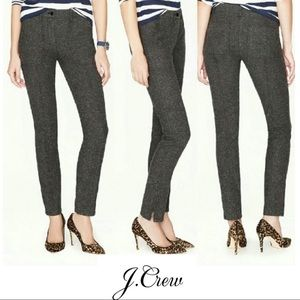 J Crew Herringbone Stretch Skinny Pants